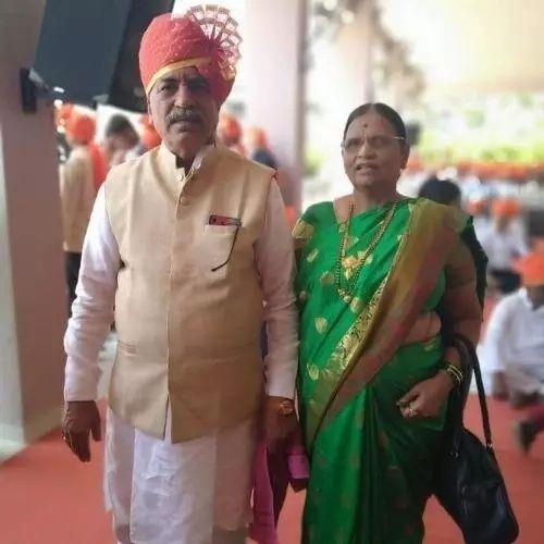 Sagar Amale's Parents