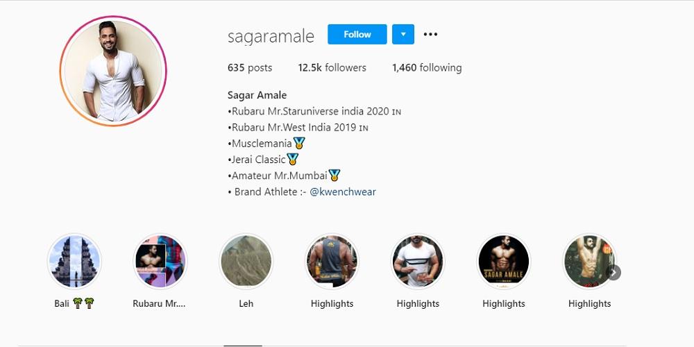 Sagar Amle on Instagram